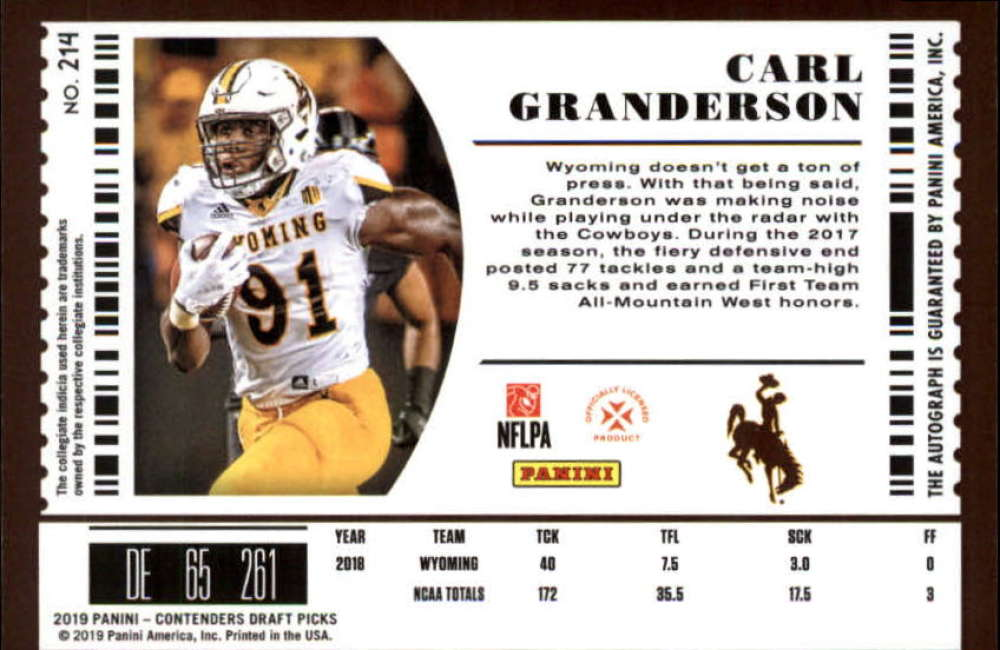 2019-Panini-Contenders-Draft-Football-Rookie-Autograph-Singles-Pick-Your-Cards thumbnail 45