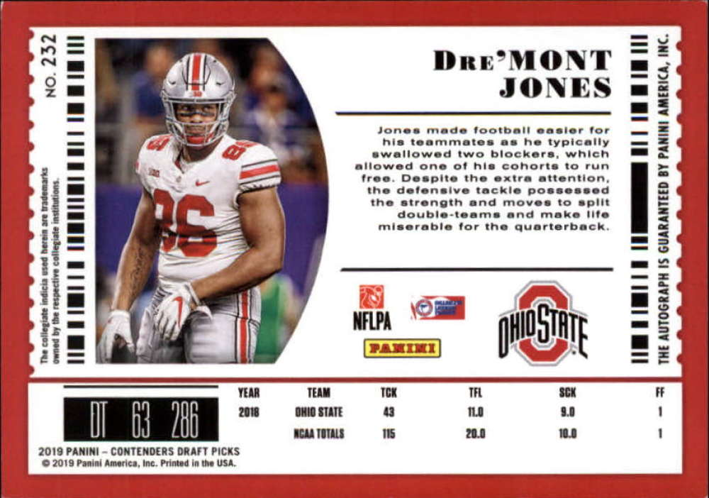 2019-Panini-Contenders-Draft-Football-Rookie-Autograph-Singles-Pick-Your-Cards thumbnail 55