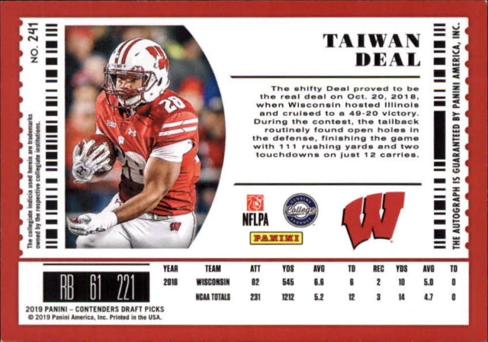 2019-Panini-Contenders-Draft-Football-Rookie-Autograph-Singles-Pick-Your-Cards thumbnail 63