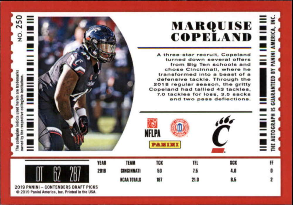 2019-Panini-Contenders-Draft-Football-Rookie-Autograph-Singles-Pick-Your-Cards thumbnail 67
