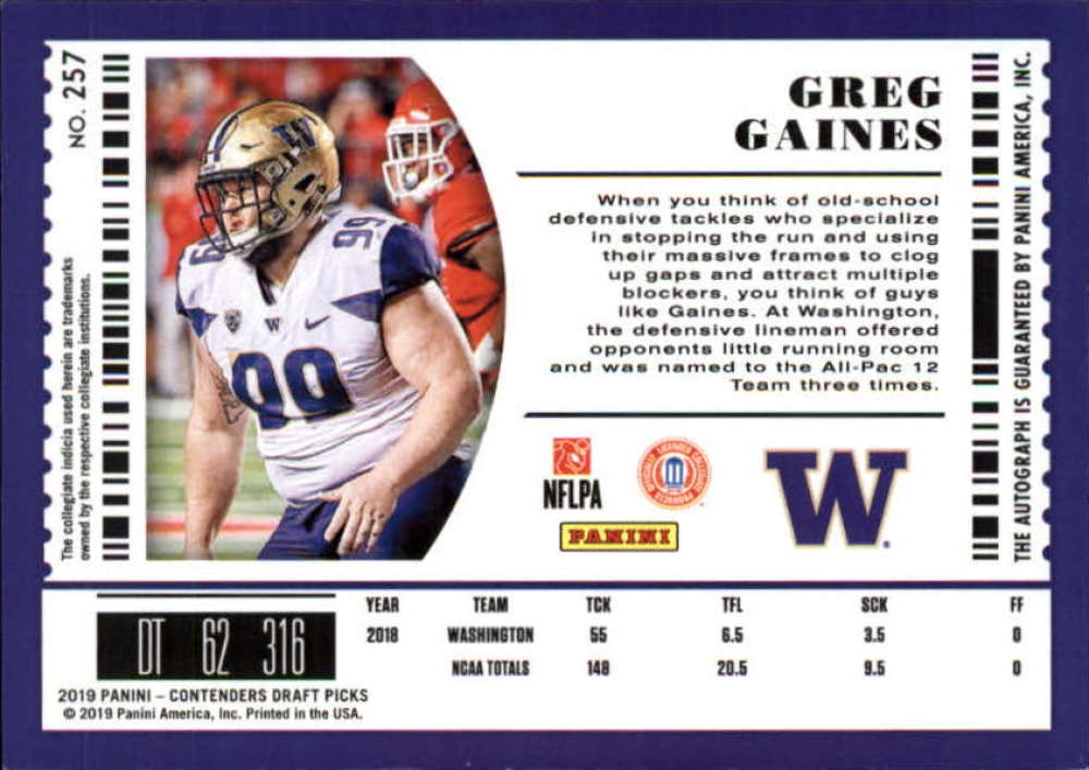 2019-Panini-Contenders-Draft-Football-Rookie-Autograph-Singles-Pick-Your-Cards thumbnail 73