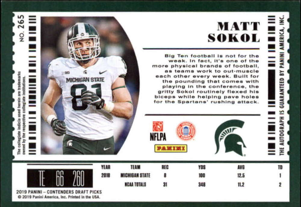 2019-Panini-Contenders-Draft-Football-Rookie-Autograph-Singles-Pick-Your-Cards thumbnail 81