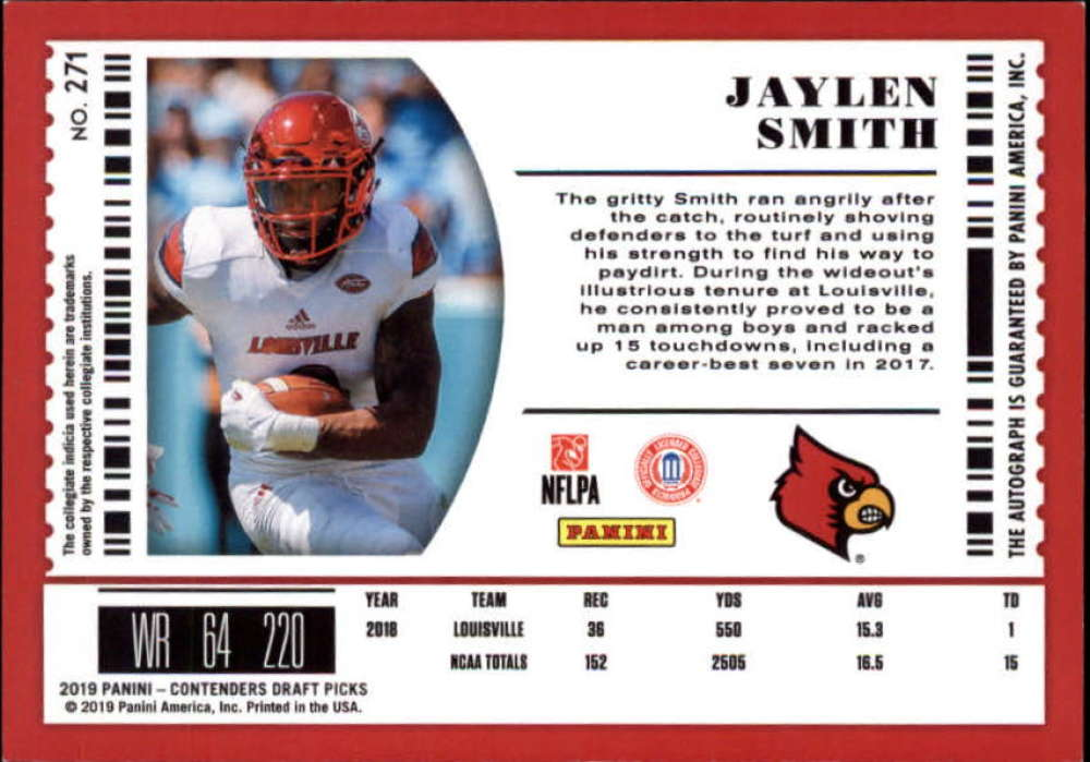 2019-Panini-Contenders-Draft-Football-Rookie-Autograph-Singles-Pick-Your-Cards thumbnail 87