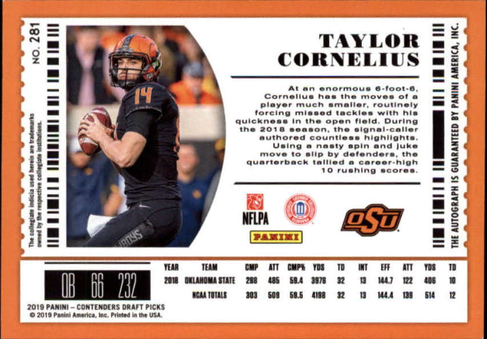 2019-Panini-Contenders-Draft-Football-Rookie-Autograph-Singles-Pick-Your-Cards thumbnail 97