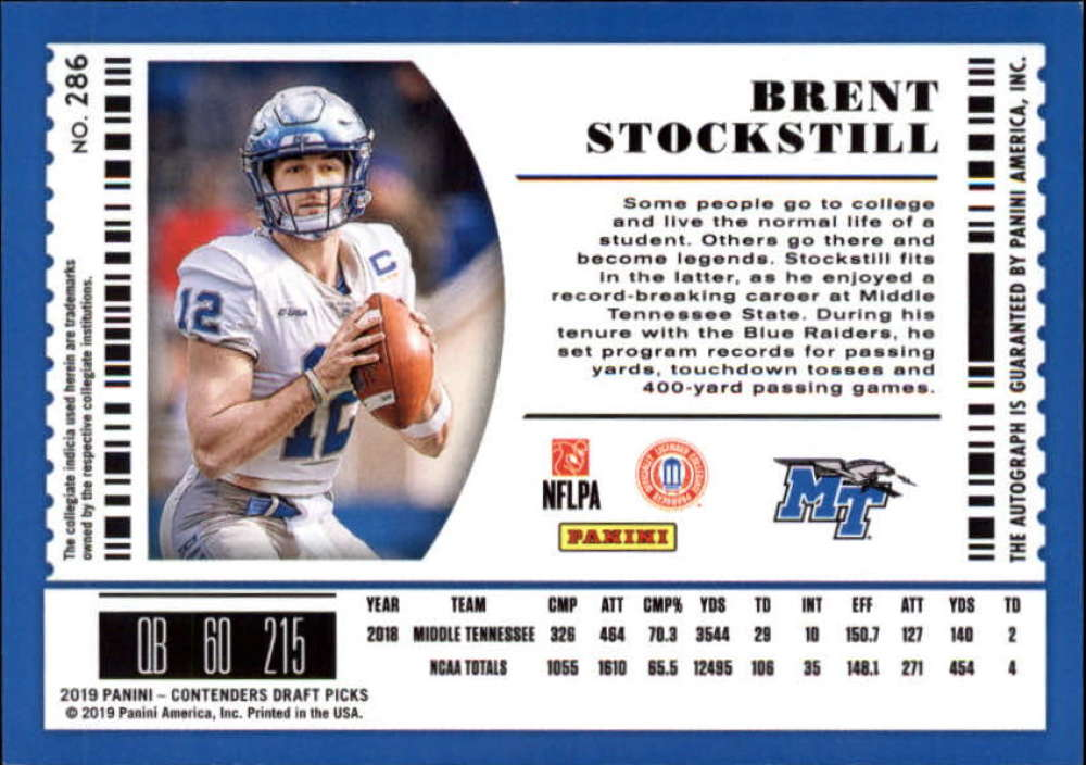 2019-Panini-Contenders-Draft-Football-Rookie-Autograph-Singles-Pick-Your-Cards thumbnail 101