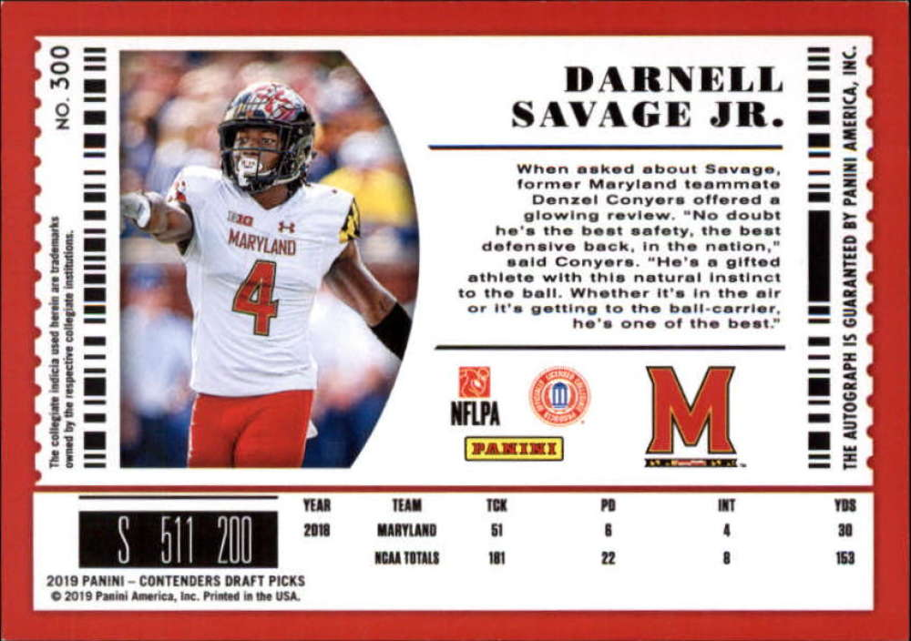2019-Panini-Contenders-Draft-Football-Rookie-Autograph-Singles-Pick-Your-Cards thumbnail 113
