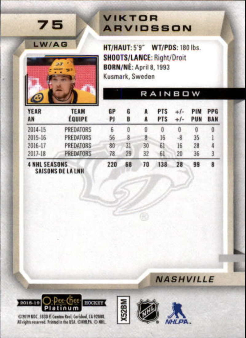 2018-19-O-Pee-Chee-OPC-Platinum-NHL-Hockey-Rainbow-Singles-Pick-Your-Cards thumbnail 61