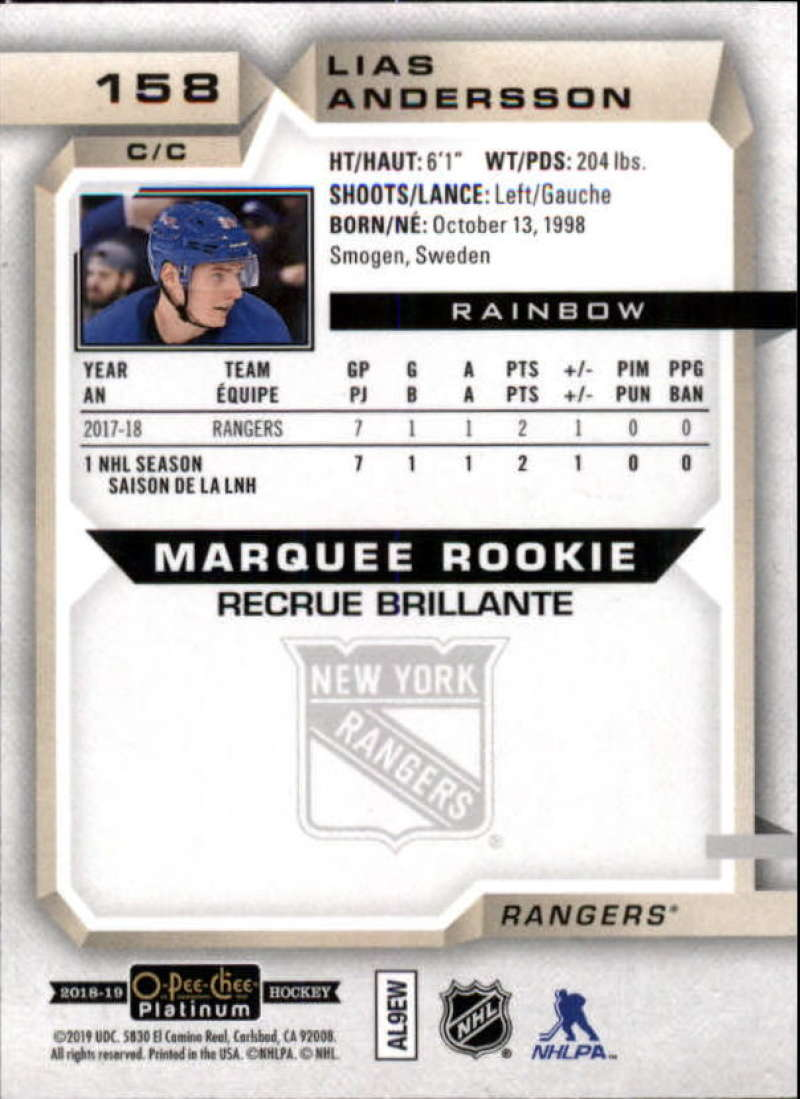 2018-19-O-Pee-Chee-OPC-Platinum-NHL-Hockey-Rainbow-Singles-Pick-Your-Cards thumbnail 141
