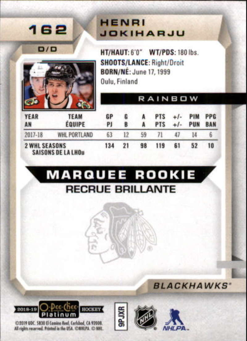 2018-19-O-Pee-Chee-OPC-Platinum-NHL-Hockey-Rainbow-Singles-Pick-Your-Cards thumbnail 149