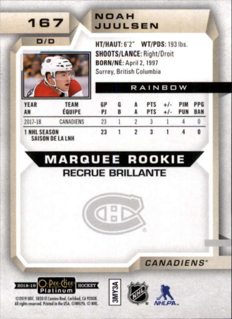 2018-19-O-Pee-Chee-OPC-Platinum-NHL-Hockey-Rainbow-Singles-Pick-Your-Cards thumbnail 153