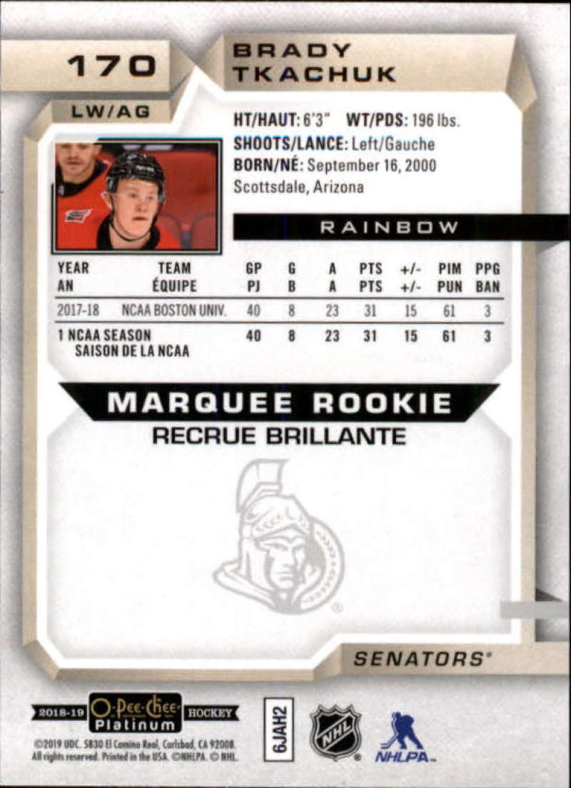 2018-19-O-Pee-Chee-OPC-Platinum-NHL-Hockey-Rainbow-Singles-Pick-Your-Cards thumbnail 159