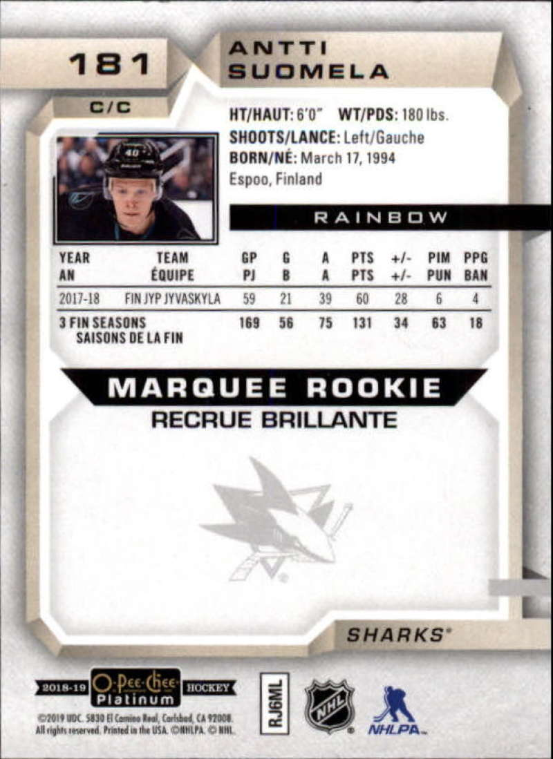 2018-19-O-Pee-Chee-OPC-Platinum-NHL-Hockey-Rainbow-Singles-Pick-Your-Cards thumbnail 167