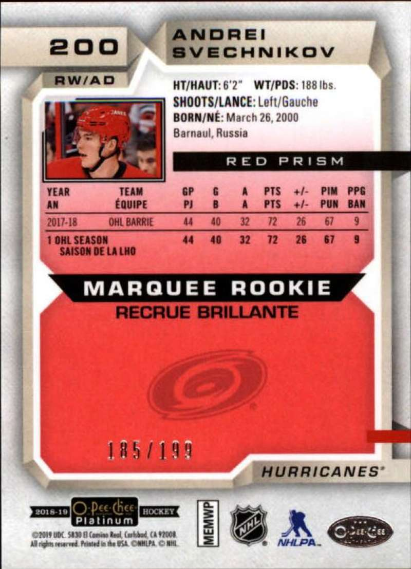 2018-19-O-Pee-Chee-OPC-Platinum-NHL-Hockey-Red-Prism-Singles-Pick-Your-Cards thumbnail 27