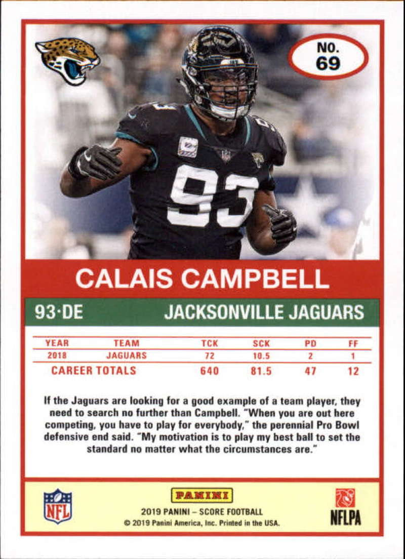 miniature 7 - 2019 Score NFL Football Parallel Singles (Pick Your Cards)