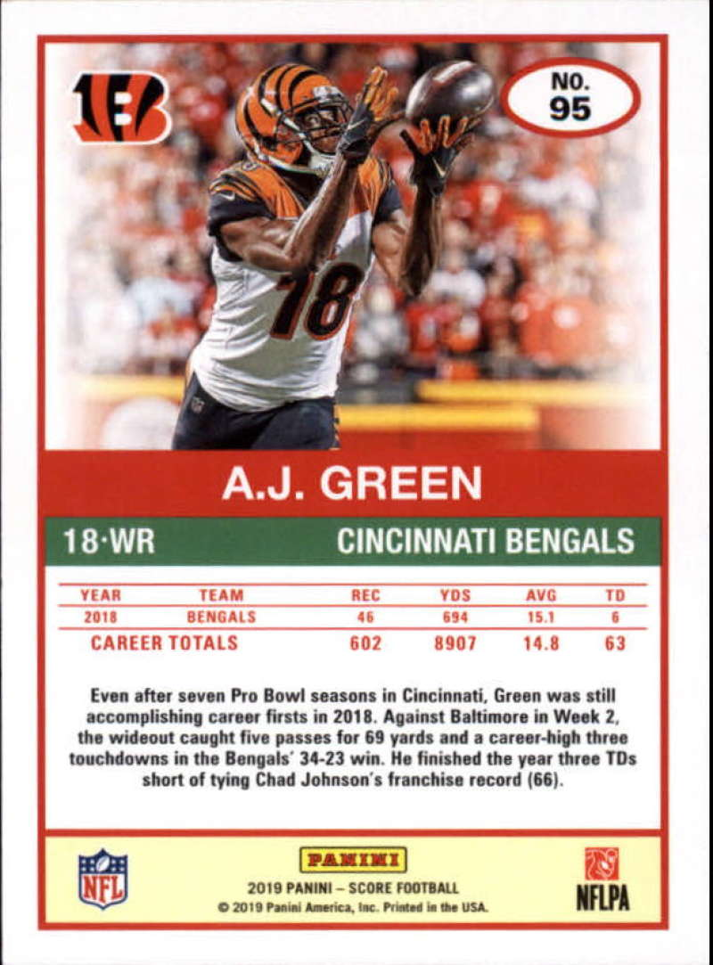 miniature 13 - 2019 Score NFL Football Parallel Singles (Pick Your Cards)