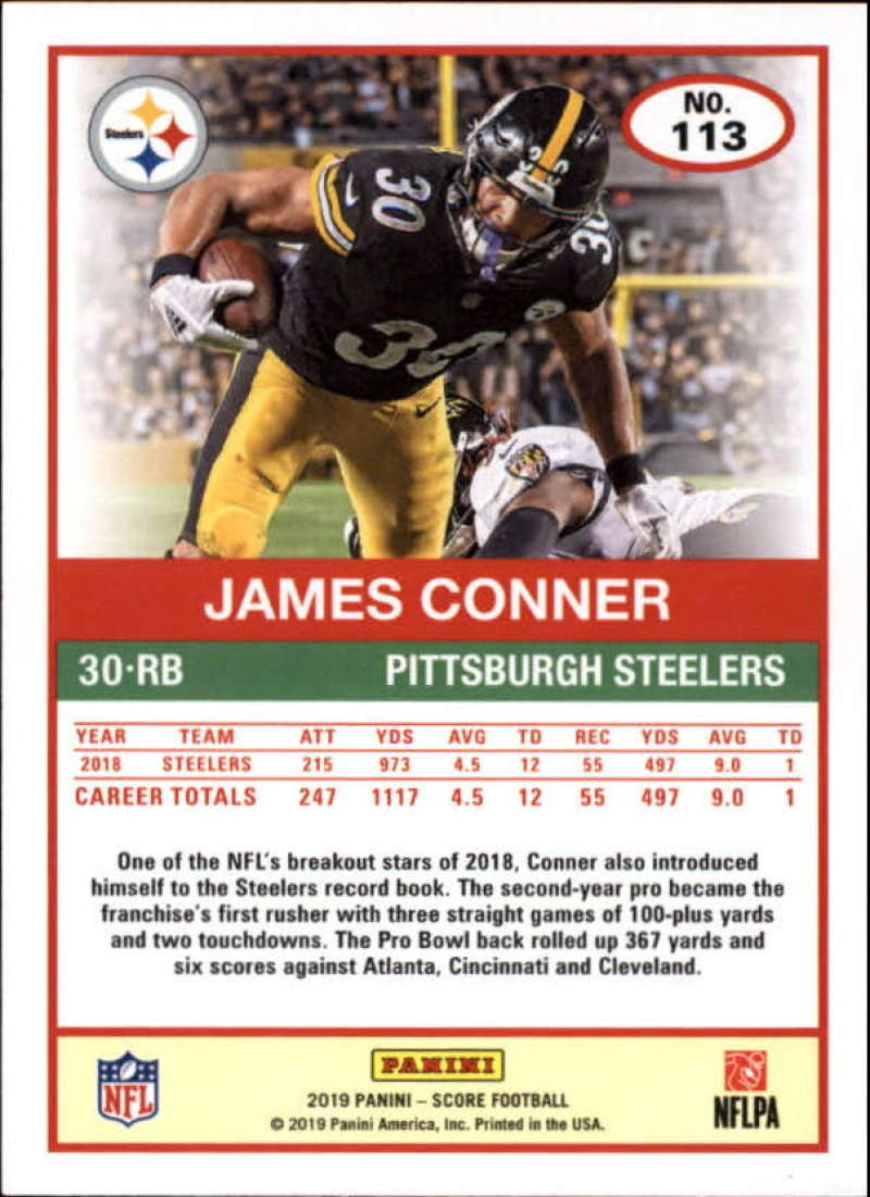 miniature 15 - 2019 Score NFL Football Parallel Singles (Pick Your Cards)