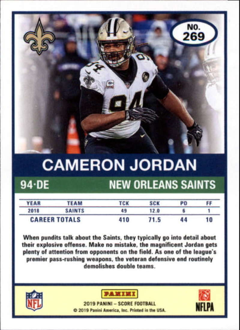 miniature 21 - 2019 Score NFL Football Parallel Singles (Pick Your Cards)