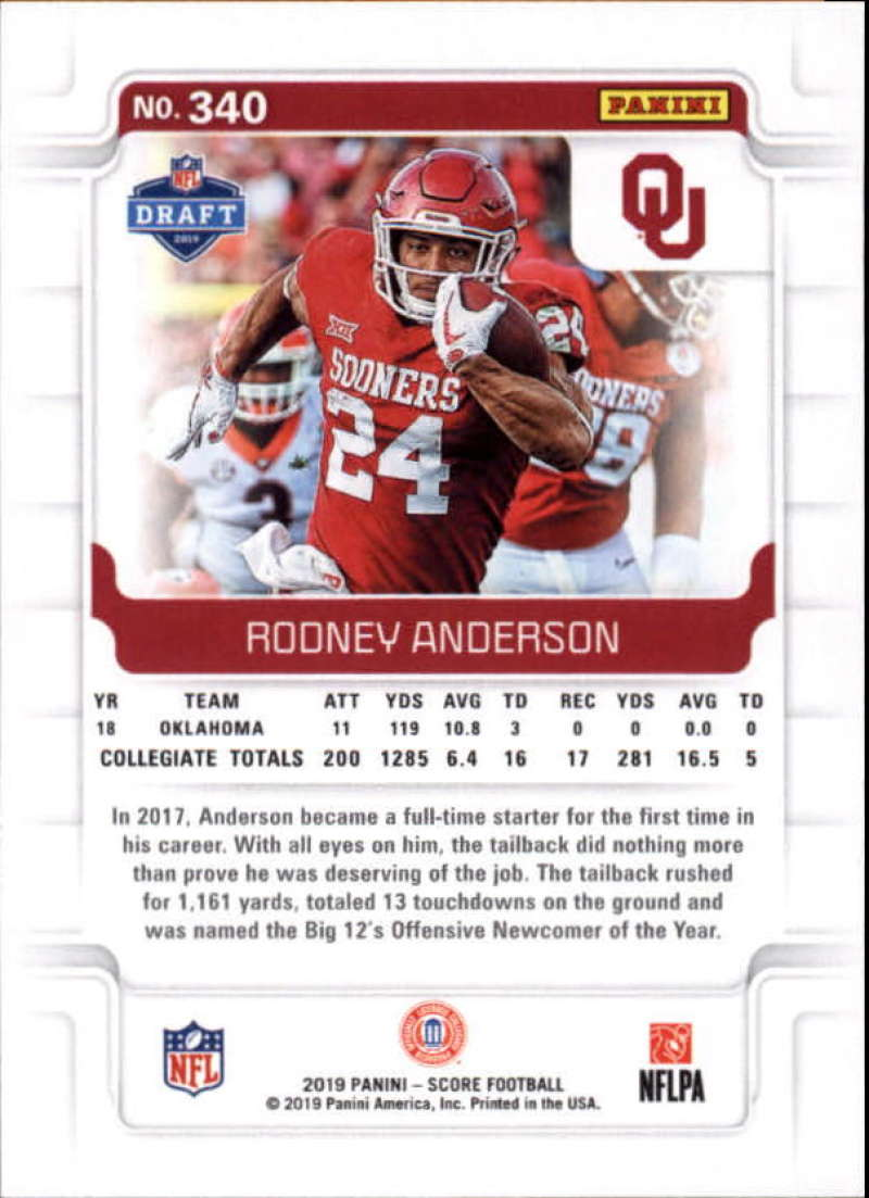 miniature 27 - 2019 Score NFL Football Parallel Singles (Pick Your Cards)
