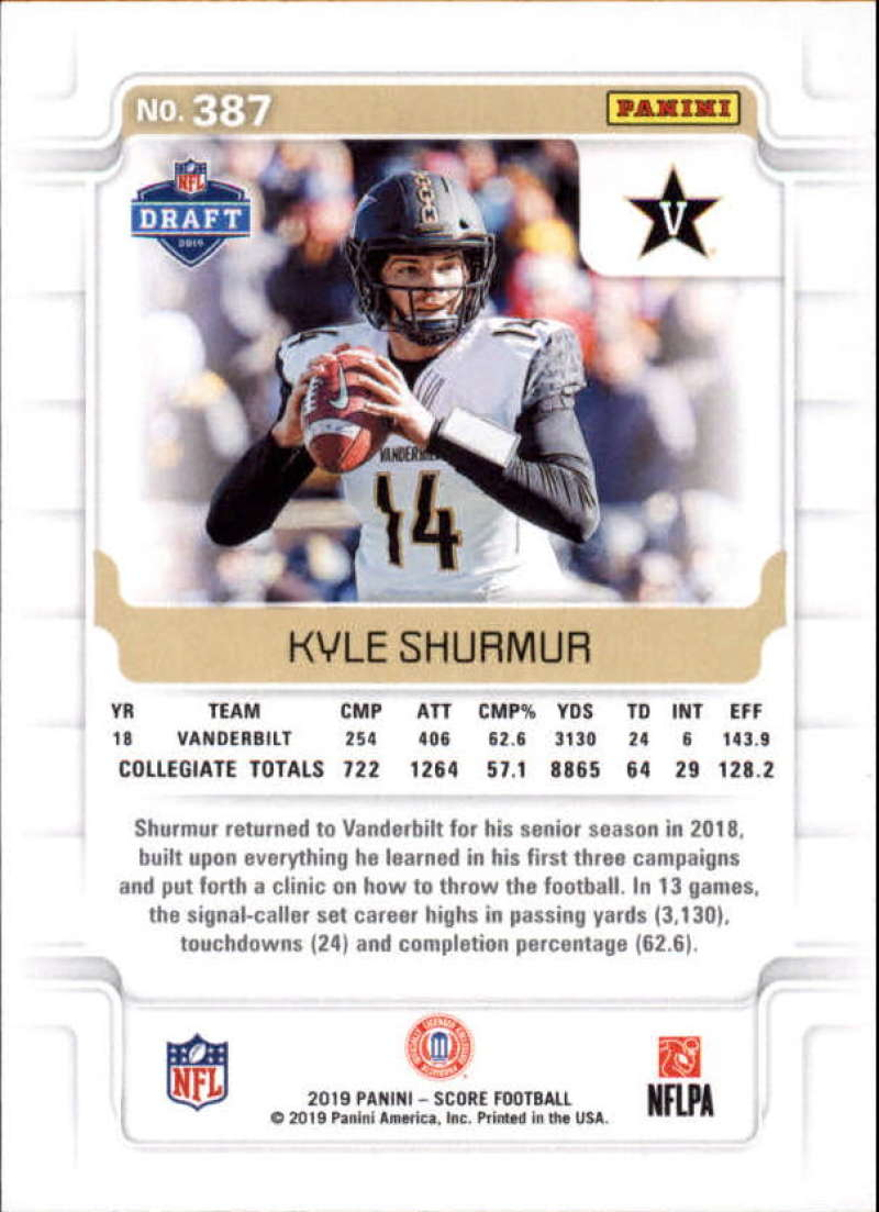 miniature 31 - 2019 Score NFL Football Parallel Singles (Pick Your Cards)