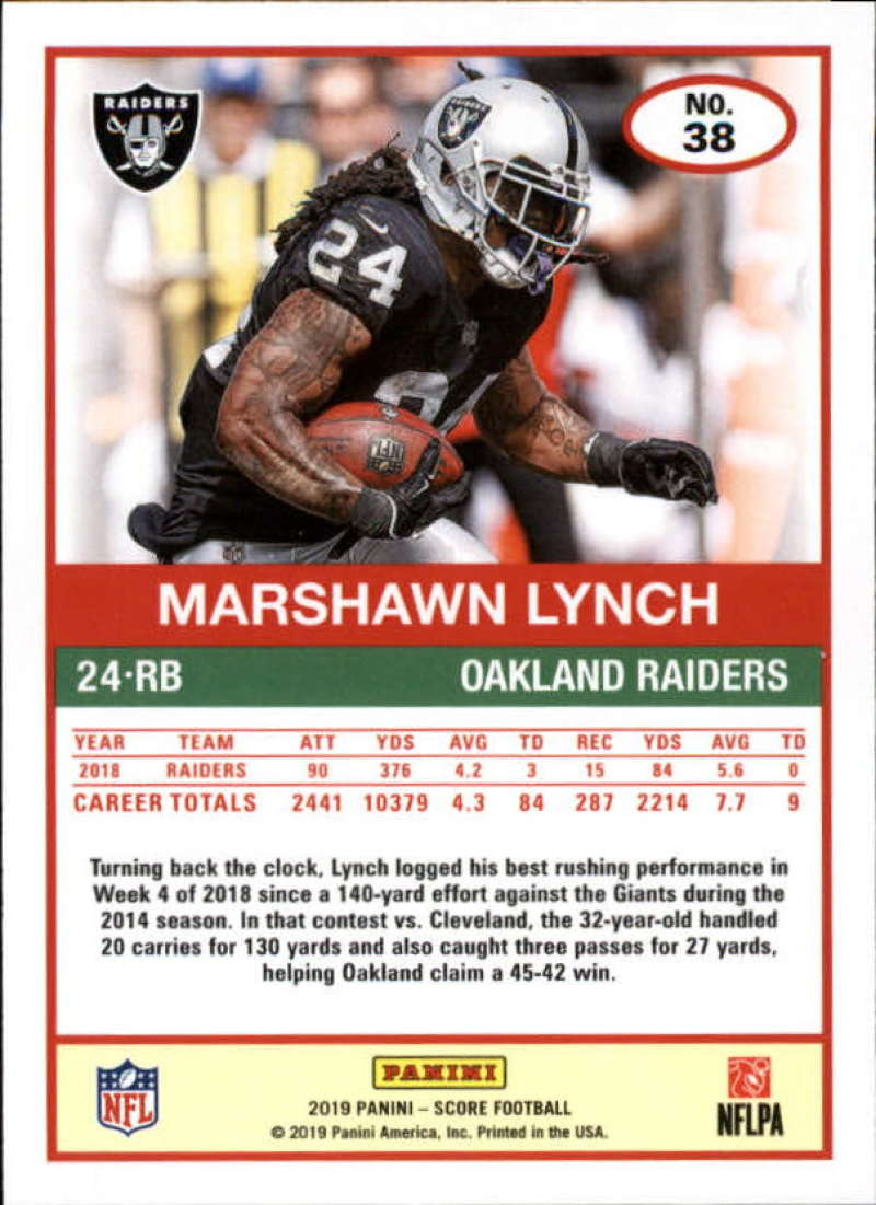 miniature 35 - 2019 Score NFL Football Parallel Singles (Pick Your Cards)