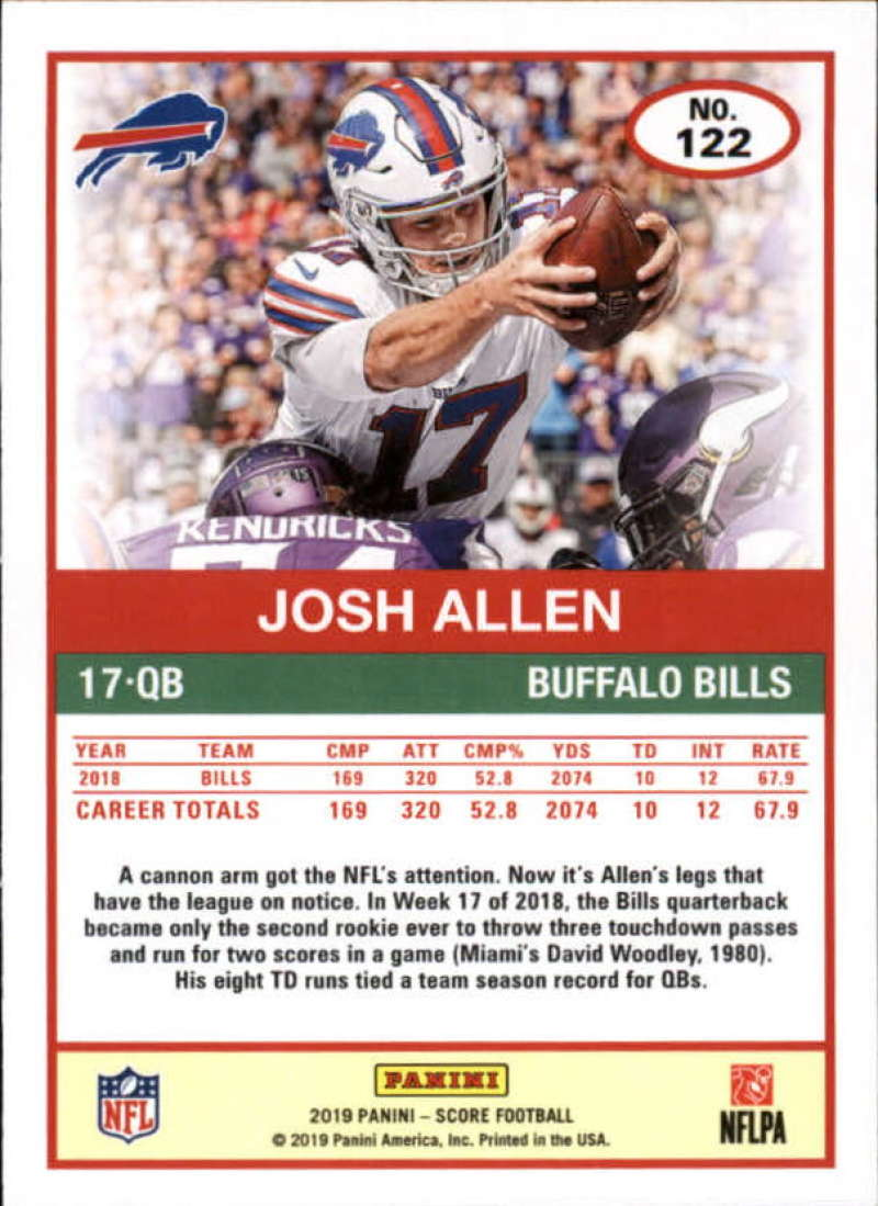 miniature 41 - 2019 Score NFL Football Parallel Singles (Pick Your Cards)