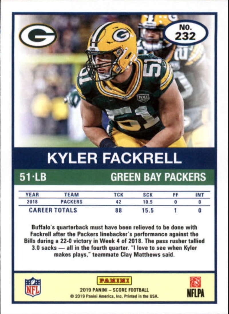 miniature 43 - 2019 Score NFL Football Parallel Singles (Pick Your Cards)