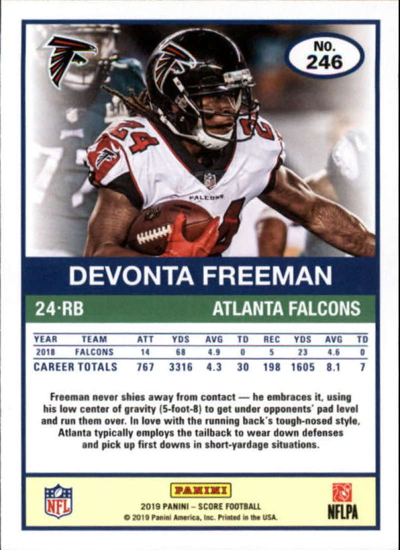 miniature 45 - 2019 Score NFL Football Parallel Singles (Pick Your Cards)
