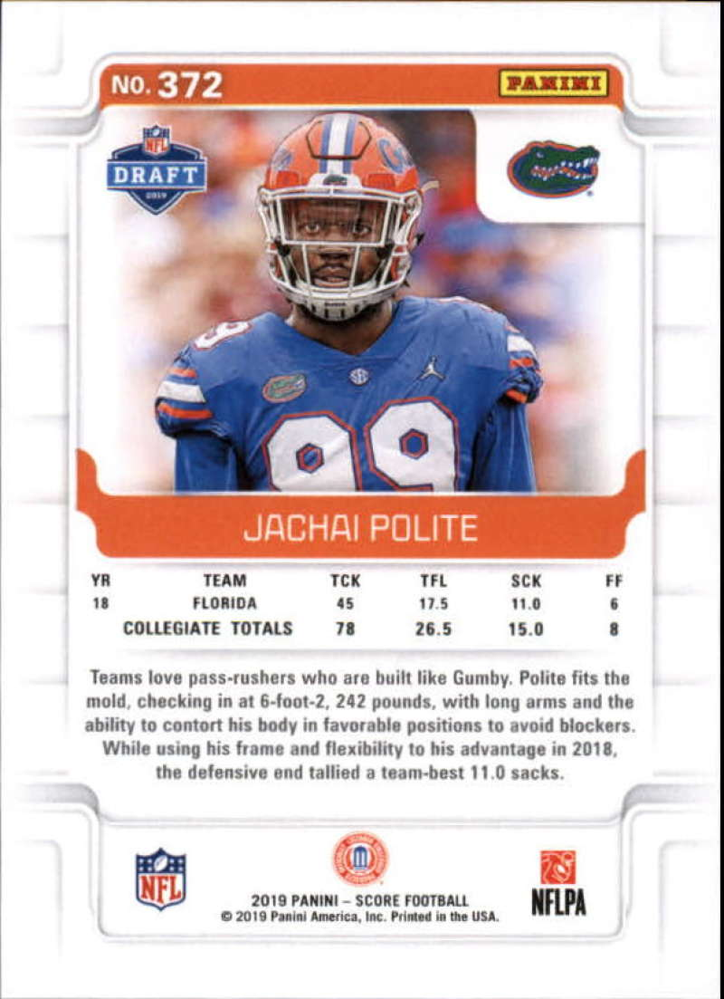miniature 47 - 2019 Score NFL Football Parallel Singles (Pick Your Cards)