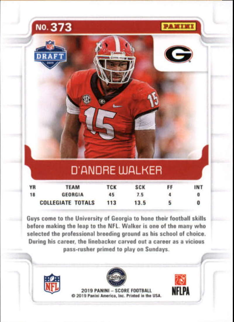 miniature 49 - 2019 Score NFL Football Parallel Singles (Pick Your Cards)