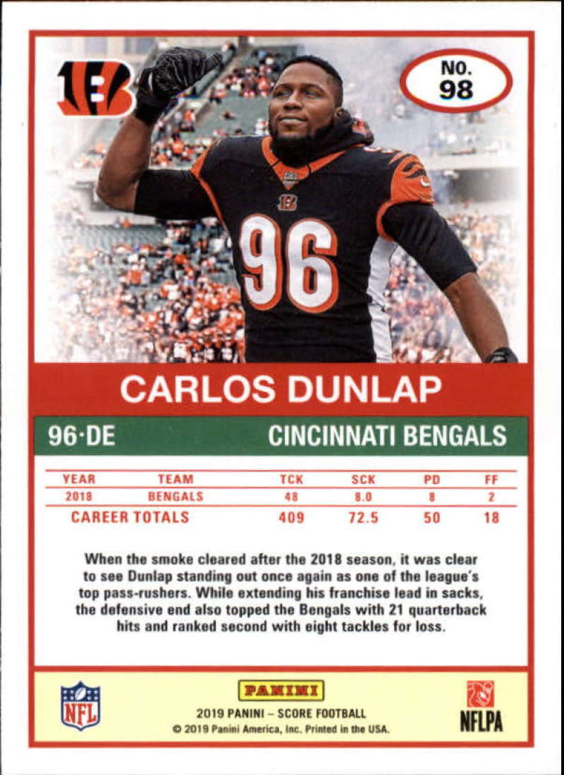 miniature 55 - 2019 Score NFL Football Parallel Singles (Pick Your Cards)