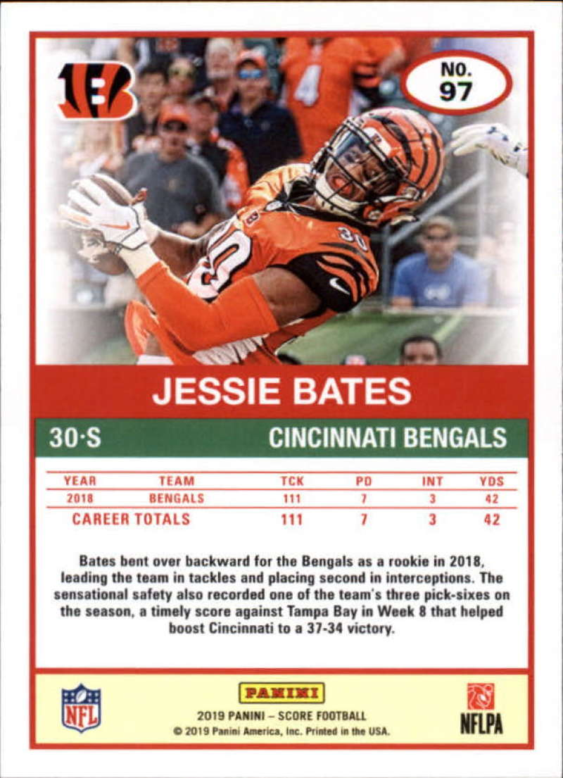miniature 61 - 2019 Score NFL Football Parallel Singles (Pick Your Cards)