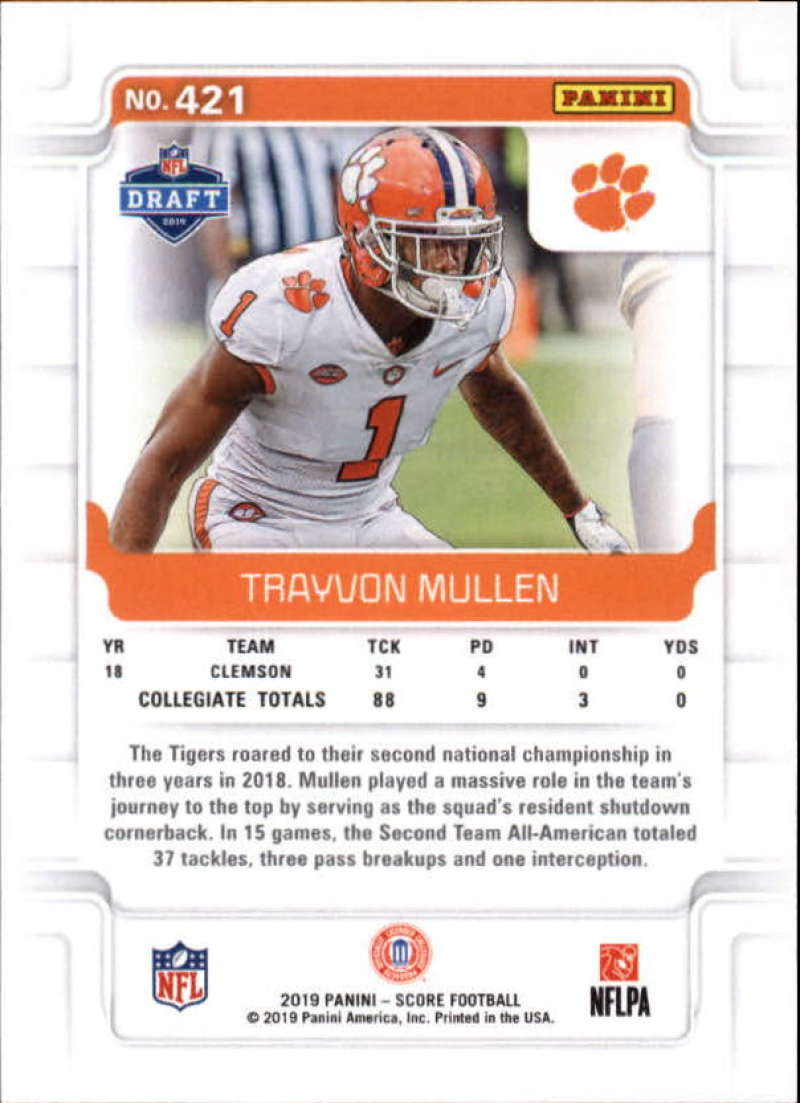 miniature 71 - 2019 Score NFL Football Parallel Singles (Pick Your Cards)
