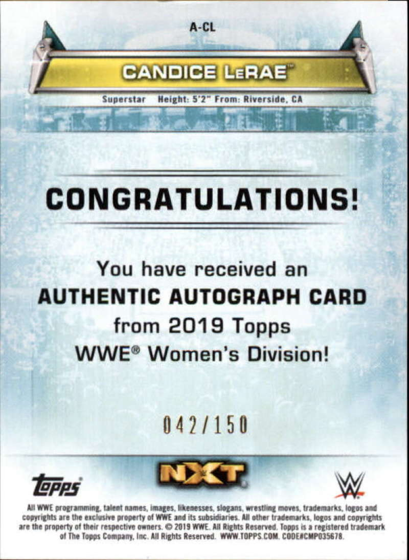 2019-Topps-WWE-Womens-Division-Wrestling-Autograph-amp-Relic-Singles-Pick-Ur-Cards thumbnail 7
