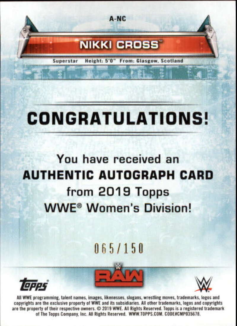 2019-Topps-WWE-Womens-Division-Wrestling-Autograph-amp-Relic-Singles-Pick-Ur-Cards thumbnail 9