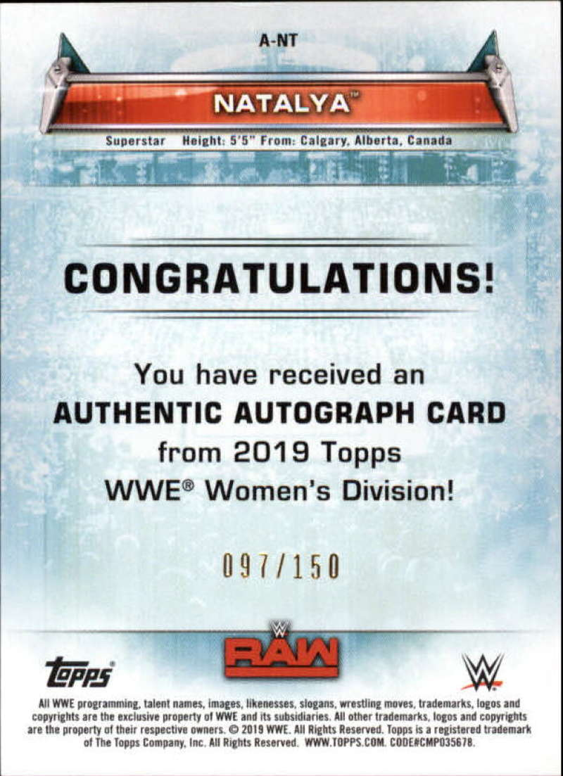 2019-Topps-WWE-Womens-Division-Wrestling-Autograph-amp-Relic-Singles-Pick-Ur-Cards thumbnail 11
