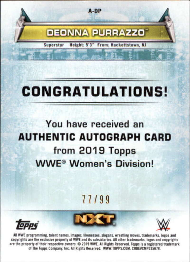 2019-Topps-WWE-Womens-Division-Wrestling-Autograph-amp-Relic-Singles-Pick-Ur-Cards thumbnail 13