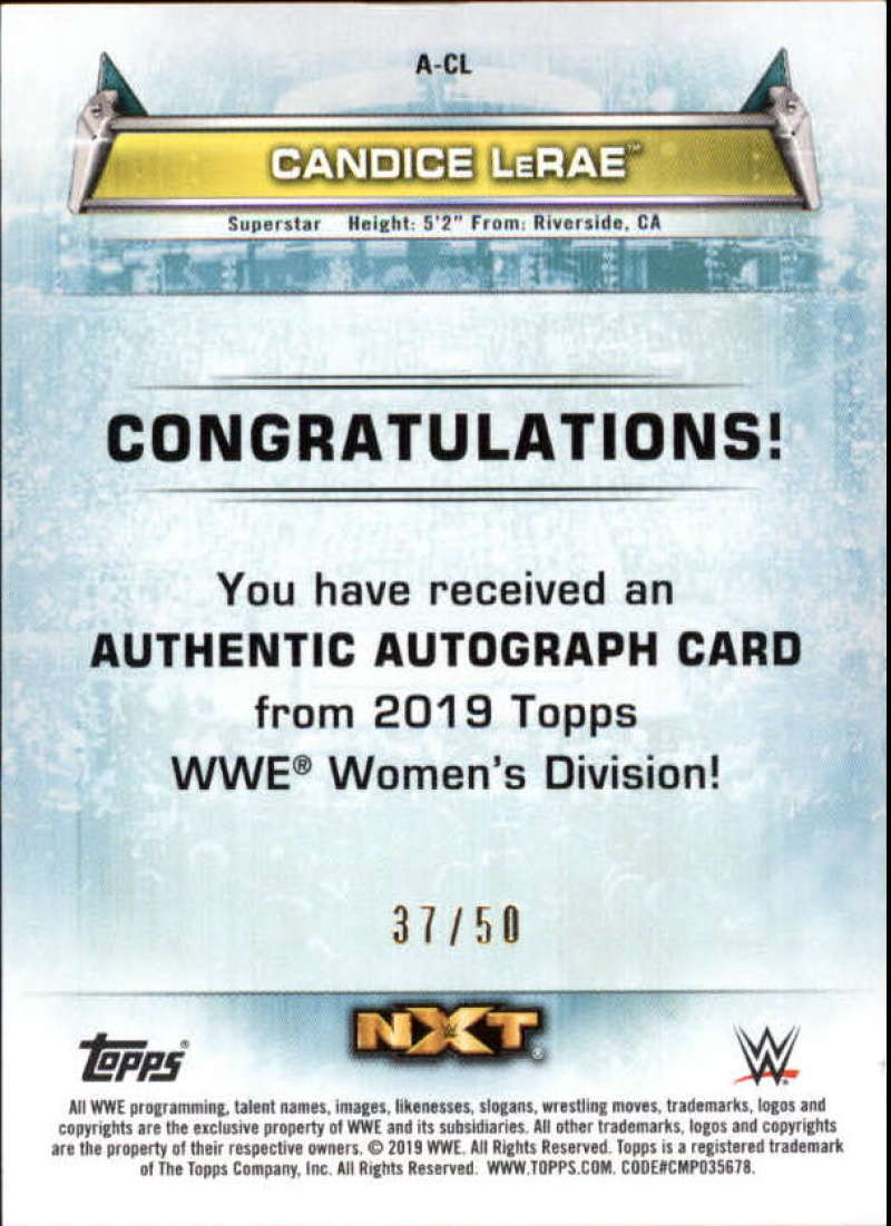 2019-Topps-WWE-Womens-Division-Wrestling-Autograph-amp-Relic-Singles-Pick-Ur-Cards thumbnail 17