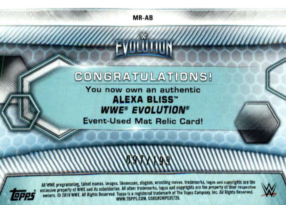 2019-Topps-WWE-Womens-Division-Wrestling-Autograph-amp-Relic-Singles-Pick-Ur-Cards thumbnail 19