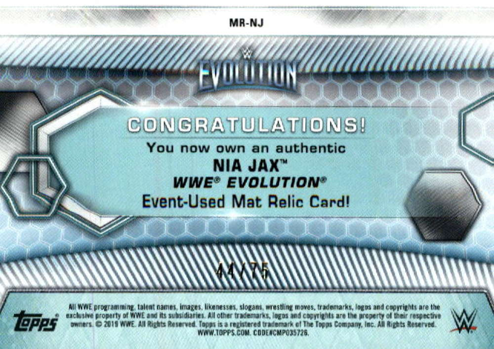 2019-Topps-WWE-Womens-Division-Wrestling-Autograph-amp-Relic-Singles-Pick-Ur-Cards thumbnail 27