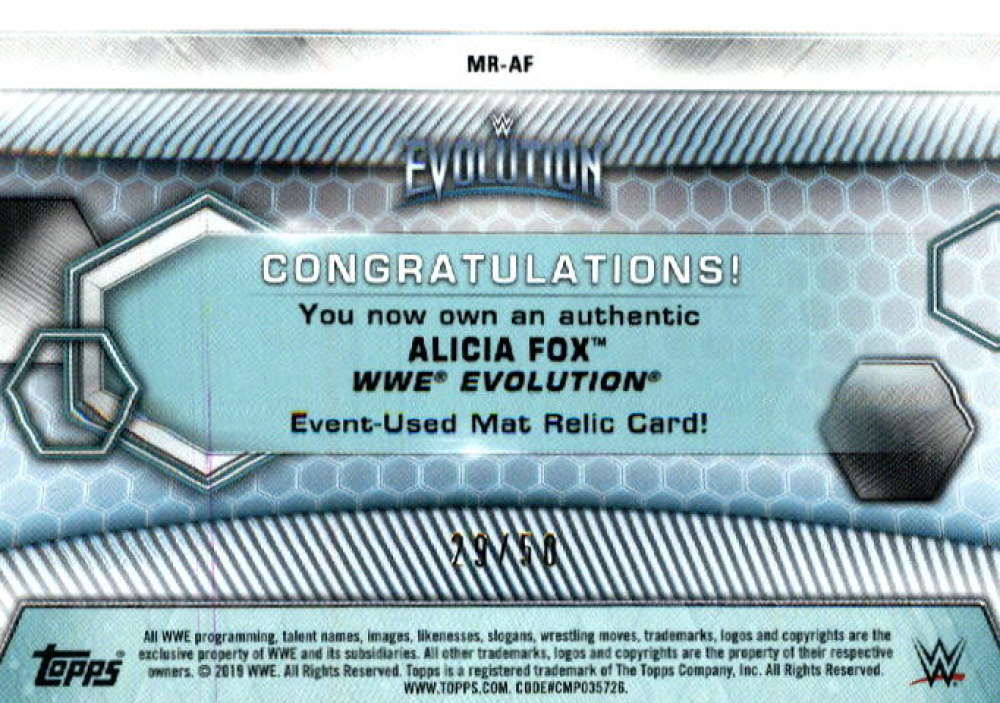 2019-Topps-WWE-Womens-Division-Wrestling-Autograph-amp-Relic-Singles-Pick-Ur-Cards thumbnail 29