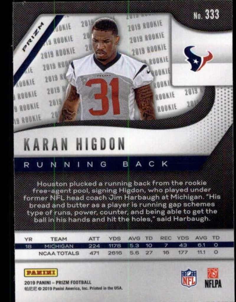 2019-Panini-Prizm-NFL-Football-Parallel-Prizm-Singles-Pick-Your-Cards thumbnail 171