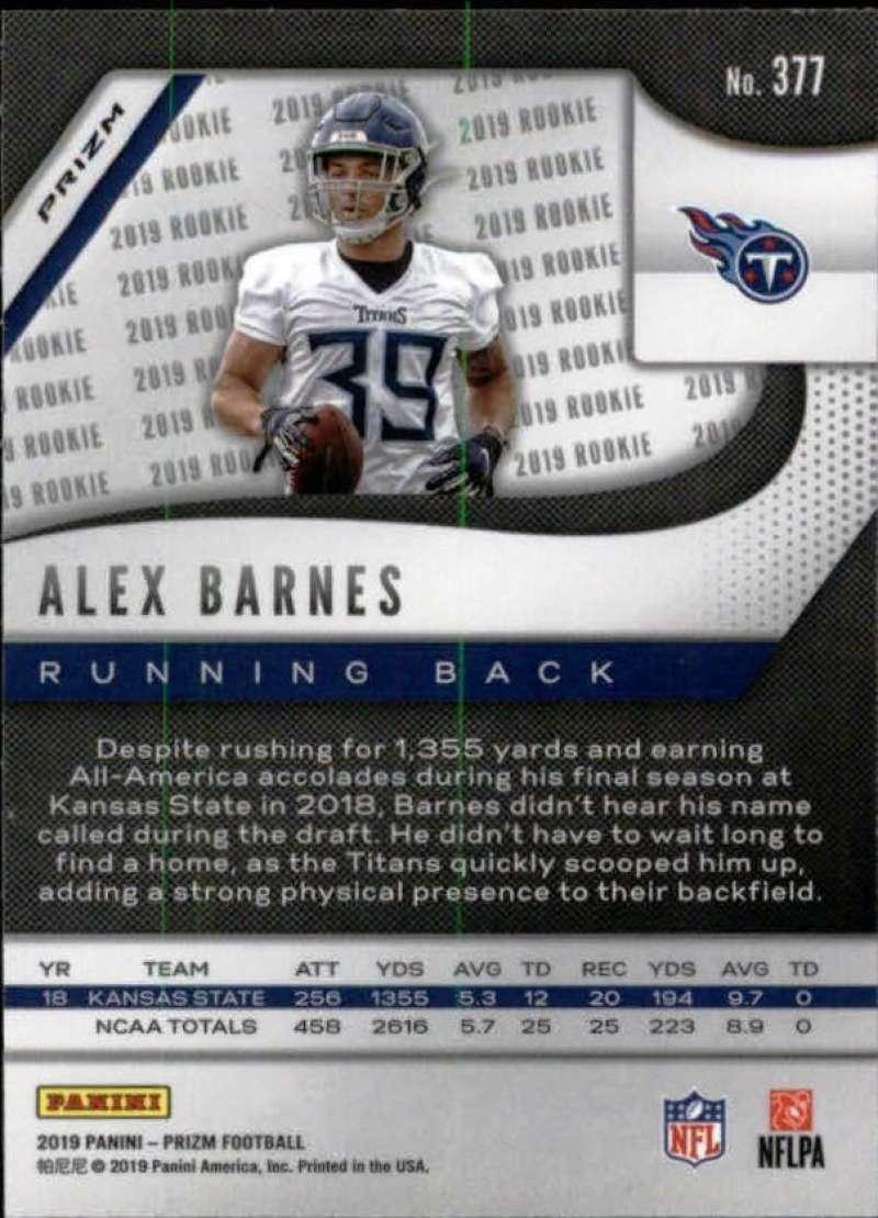 2019-Panini-Prizm-NFL-Football-Parallel-Prizm-Singles-Pick-Your-Cards thumbnail 187