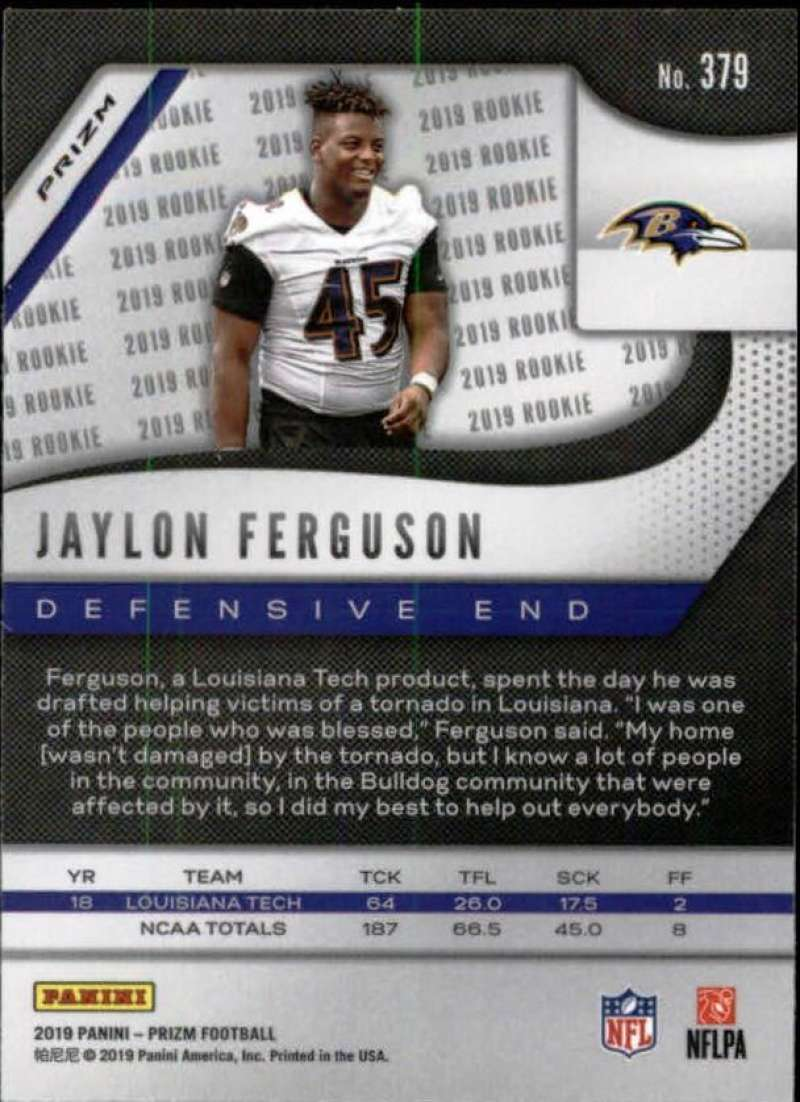 2019-Panini-Prizm-NFL-Football-Parallel-Prizm-Singles-Pick-Your-Cards thumbnail 189