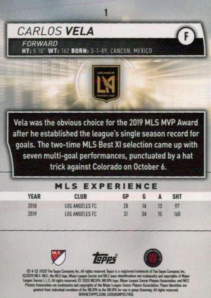 thumbnail 2 - 2020 Topps MLS Soccer Base Singles (Pick Your Cards)