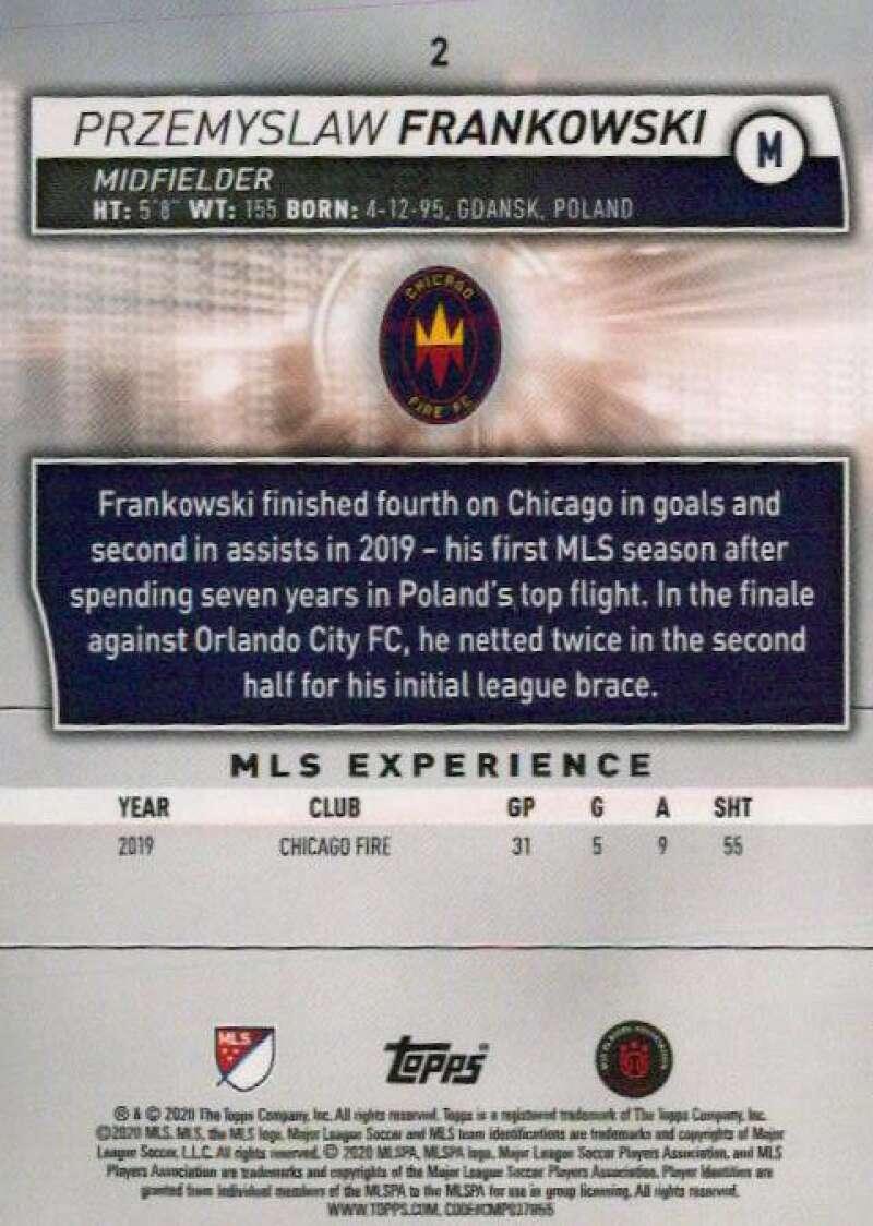 thumbnail 4 - 2020 Topps MLS Soccer Base Singles (Pick Your Cards)