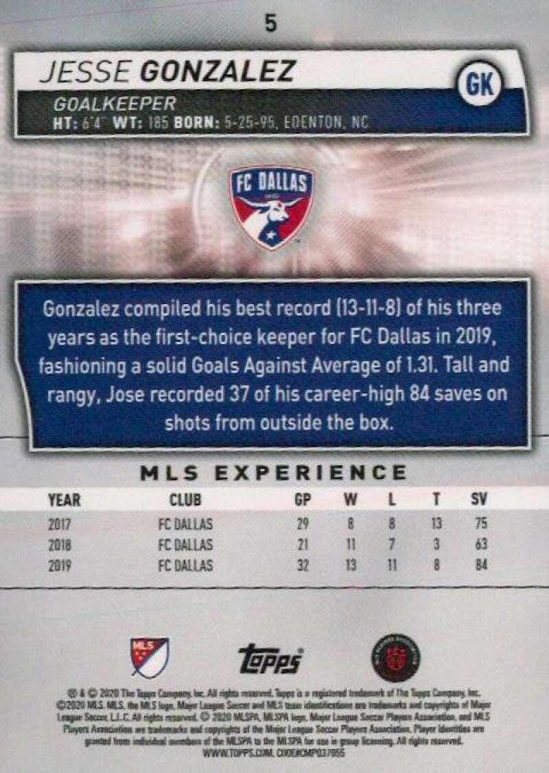 thumbnail 10 - 2020 Topps MLS Soccer Base Singles (Pick Your Cards)