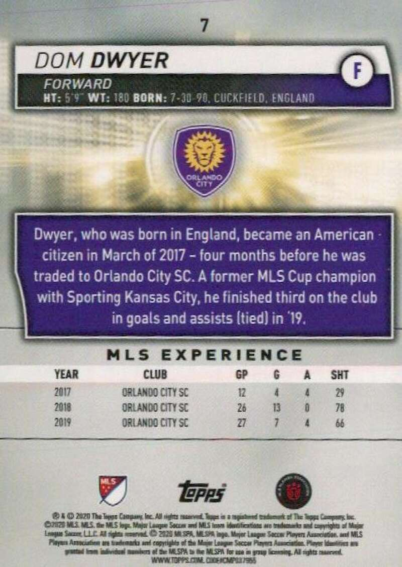 thumbnail 14 - 2020 Topps MLS Soccer Base Singles (Pick Your Cards)