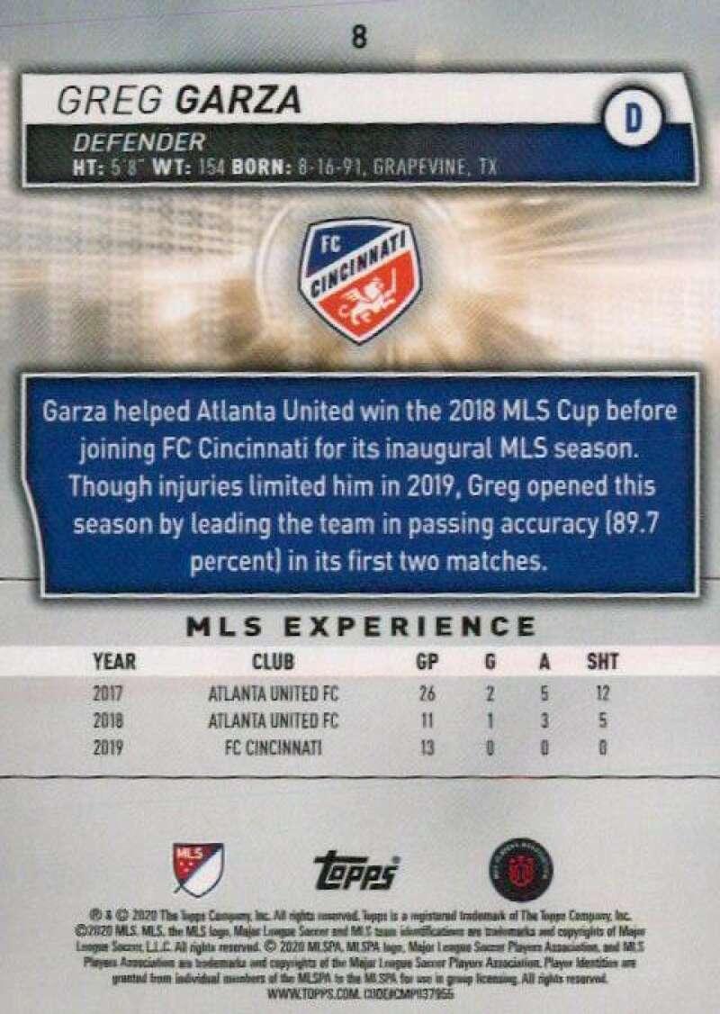 thumbnail 16 - 2020 Topps MLS Soccer Base Singles (Pick Your Cards)
