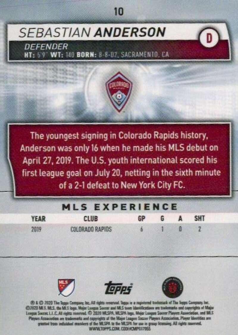 thumbnail 20 - 2020 Topps MLS Soccer Base Singles (Pick Your Cards)
