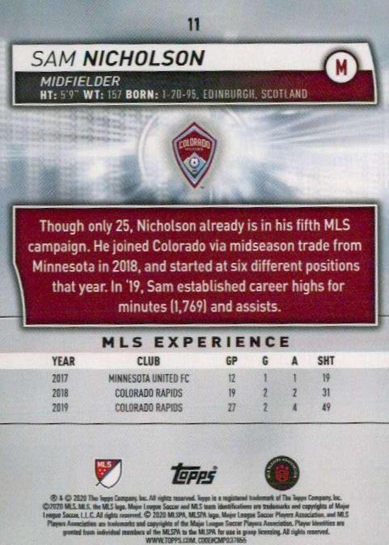 thumbnail 22 - 2020 Topps MLS Soccer Base Singles (Pick Your Cards)